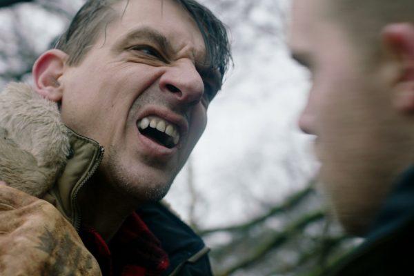 Braker laat zijn tanden zien