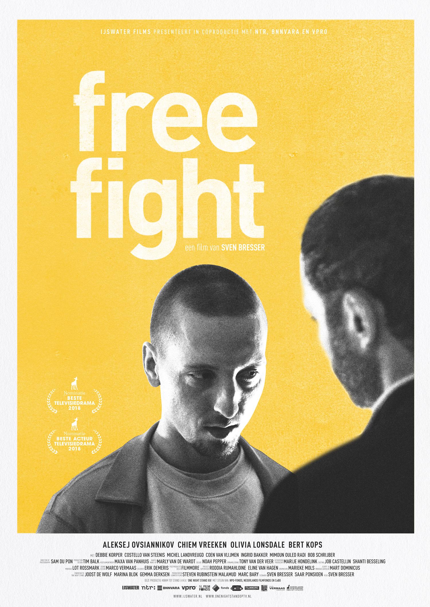 Het filmaffiche van FREE FIGHT