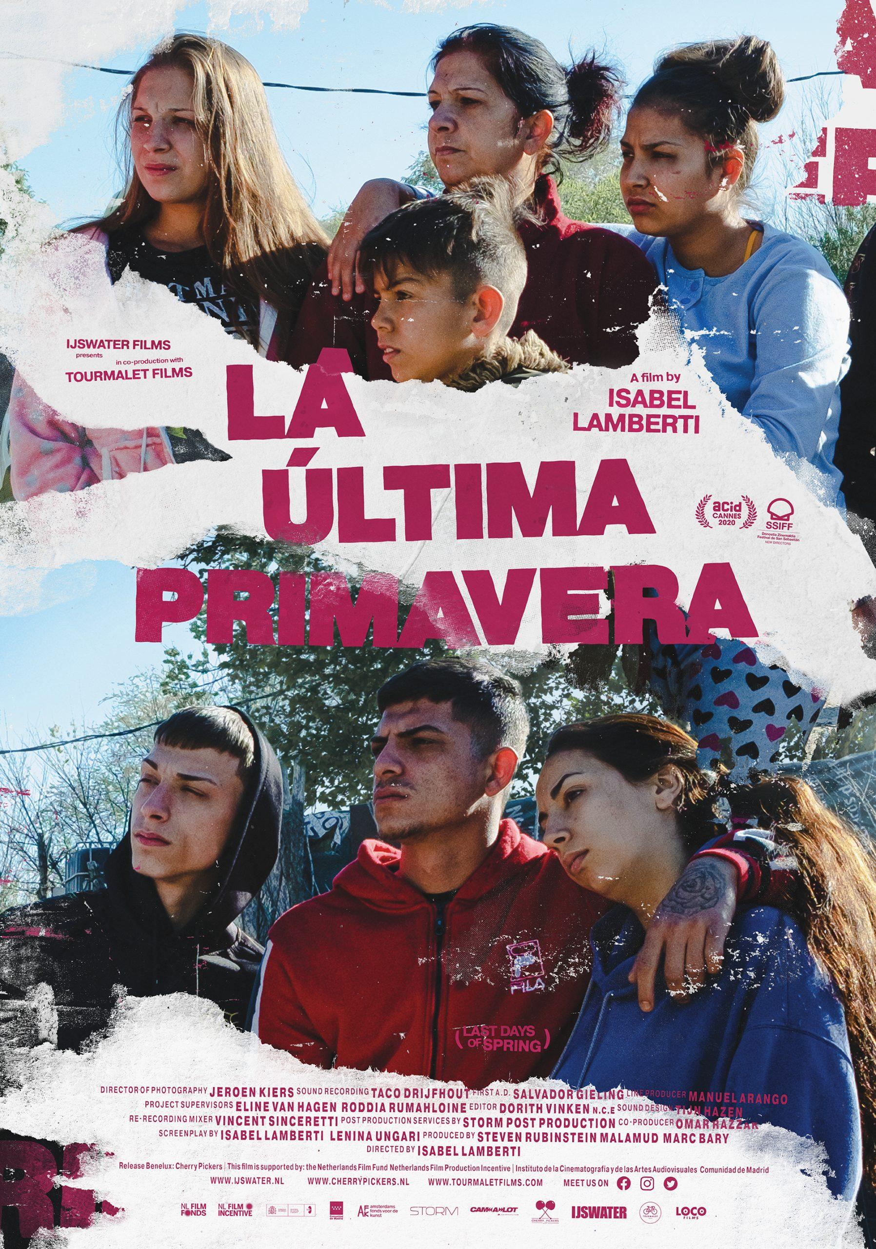 LA ÚLTIMA PRIMAVERA in world Premiere at San Sebastián Film Festival, New Directors Competition – September 21, 2020.